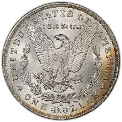 1885-O Morgan Dollar PCGS MS64 Aurora Orban Collection Ultra Rainbow Toned