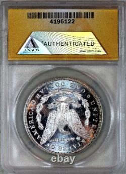1885-cc Ms62 Cameo Pl Anacs Proof-like Morgan Silver Dollar