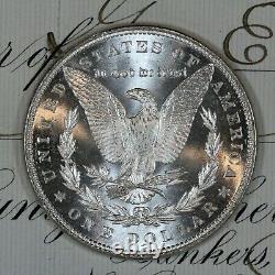 1885-p Choice Gem Bu Ms Morgan Silver Dollar Fresh From Original Roll