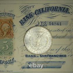 1886-p Gem Choice Bu Ms Morgan Silver Dollar Fresh From Original Roll