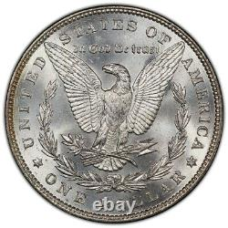 1887-P Morgan Dollar PCGS MS63 Vibrant Rainbow Toned Obverse Now With Video