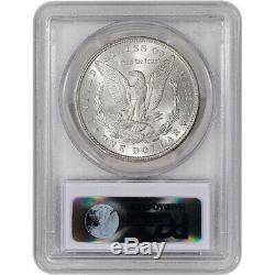 1887 US Morgan Silver Dollar $1 PCGS MS63