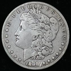 1889-CC $1 Morgan Dollar