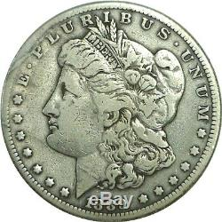 1889-CC $1 Morgan Silver Dollar Very Good Details