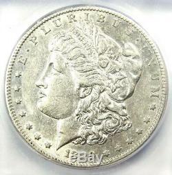 1889-CC Morgan Silver Dollar $1 Coin Certified ICG AU50 $6,250 Value