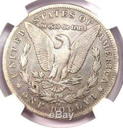 1889-CC Morgan Silver Dollar $1 NGC Fine Details Rare Certified Coin