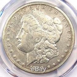 1889-CC Morgan Silver Dollar $1 PCGS Fine Details Rare Certified Coin