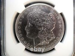 1889 CC Morgan Silver Dollar NGC AU CARSON CITY $1 Coin Priced To Sell Now