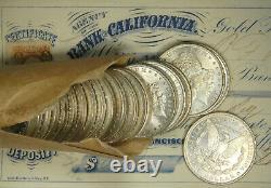 1889 Gem Choice Bu Ms Morgan Silver Dollar Fresh From Original Roll