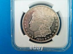 1890 CC Morgan Silver Dollar CERTIFIED NGC MS 60 Carson City
