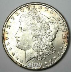 1891-CC Morgan Dollar $1 Coin Uncirculated Detail (UNC MS Reverse Polished)