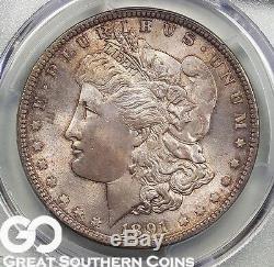 1891 Morgan Silver Dollar PCGS MS 65 Wholesale Bid Spread $4500/$5500