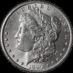 1891-S Morgan Silver Dollar Brilliant Uncirculated BU
