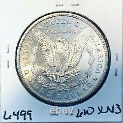 1892 CC Bu Gem Morgan Silver Dollar Unc-ms++u. S. Mint Rare Key Coin 6499