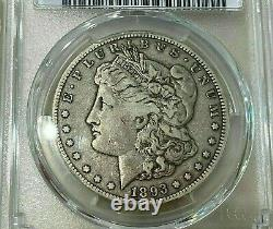 1893 CC Carson City MORGAN SILVER DOLLAR key date PCGS FINE 15 looks nicer
