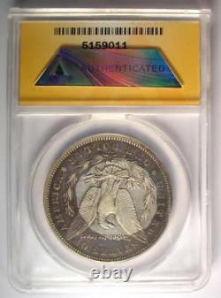 1893-CC Morgan Silver Dollar $1 ANACS VF20 Details Rare Carson City Coin
