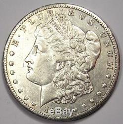 1893-CC Morgan Silver Dollar $1 AU Details Rare Carson City Coin