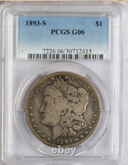 1893-S Morgan Dollar PCGS G06