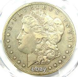 1893-S Morgan Silver Dollar $1 Certified PCGS VF Details Rare Key Coin