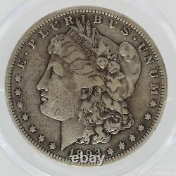 1893-S Morgan Silver Dollar PCGS F15 $1 Certified Coin San Francisco JJ558