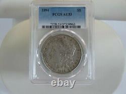 1894 Pcgs Au 53 S$1 Morgan Silver Dollar Coin