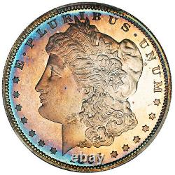 1895 $1 PCGS/CAC PR 67+ CAM Morgan Silver Dollar Key Date Proof-Only Rarity