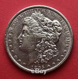 1895-O $1 Morgan Silver Dollar (AU) RARE KEY DATE-LOW MINTAGE (100,000 CIR)