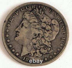 1895 O Morgan Silver Dollar Selling At No Reserve