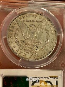 1895-S $1 Morgan Silver Dollar AU55 PCGS
