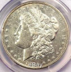 1895-S Morgan Silver Dollar $1 Certified PCGS AU Details Rare Coin