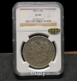 1895-S Morgan Silver Dollar NGC XF40 CAC! 010 ENN COINS