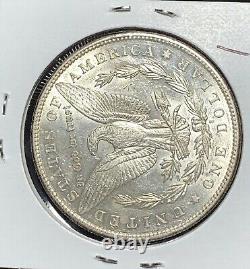 1895-s Morgan Silver Dollar, Au+ Details