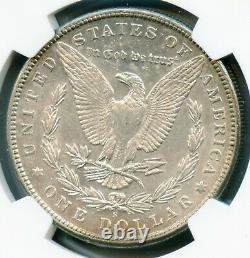 1896 S Morgan Silver Dollar NGC AU 50