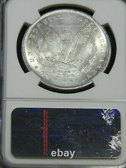 1899 P Morgan Silver Dollar NGC MS64 Blast White Super Luster PQ #G857