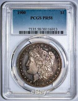 1900 Rare Morgan PCGS PR58 Silver Dollar PROOF, Only 912 Minted