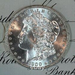 1900-o Choice Gem Bu Ms Morgan Silver Dollar Fresh From Original Roll