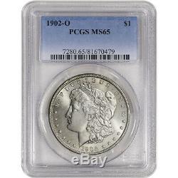 1902-O US Morgan Silver Dollar $1 PCGS MS65