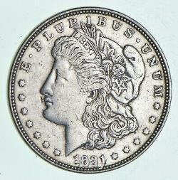 1921 D & S 2 Coin Mint Mark Set Morgan Silver Dollar 90% Eagle Last Year