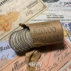 1921 GEM BU Morgan Silver Dollar MS 1 Choice Mint UNC From Roll Estate Lot
