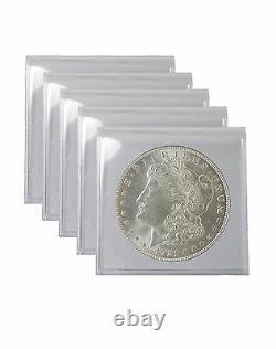 1921 Silver Morgan Dollar BU Lot of 5 S$1 Coins