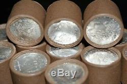 (1) $10 BU Morgan UNC Silver Dollar Roll Vintage Unopened! 1878 1904