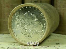 1x $20 BU Silver Morgan Roll UNCIRCULATED Dollar Lot Dollars Pre 21
