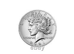 2021 100th Anniversary Morgan Peace Silver Dollars Presale 6 Coins In All