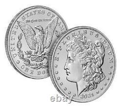 2021 Morgan & Peace Silver Dollar 100th Anniversary 6 coin lot Presale