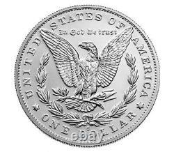 2021 Morgan Silver Dollar CC Carson City & O New Orleans Presale
