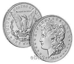 2021 Morgan Silver Dollar with CC Privy Mark 100th Anniversary Presale Confirmed