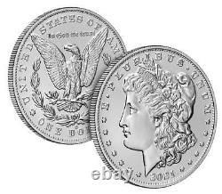 2021 Morgan Silver Dollar with O Privy Mark CONFIRMED ORDER 21XD