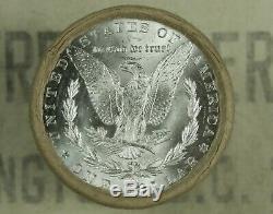 $20 BU MORGAN DOLLAR ROLL UNCIRCULATED SILVER CC & CC Mint ENDS DOLLARS