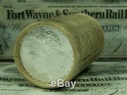 $20 BU Morgan Roll UNC Silver Dollar 1885 & CC Morgan Dollar Ends Pre 21