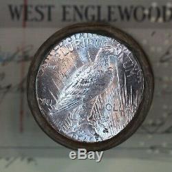 $20 Silver Dollar Roll Mixed Morgan & Peace Dollar 1925 & D-mint Ends